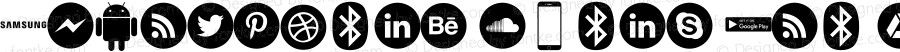 Smartphone Icons Pro Regular Version 1.00;July 19, 2018;FontCreator 11.0.0.2388 32-bit