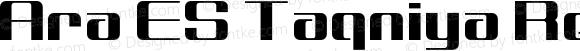 Ara ES Taqniya Regular Version 1.000;PS 001.000;hotconv 1.0.70;makeotf.lib2.5.58329