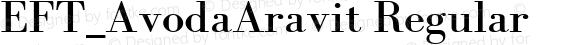 EFT_AvodaAravit Regular