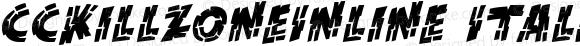 CCKillZoneInline Italic Version 1.00 2013
