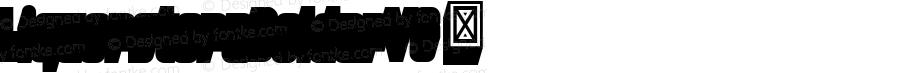 LiquorstoreBolderVS ☞ Version 1.000;com.myfonts.easy.chank.liquorstore-bold-and-bolder.new-bolder-vs.wfkit2.version.4Sk2