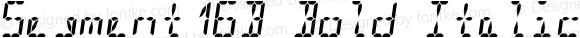 Segment16B Bold Italic