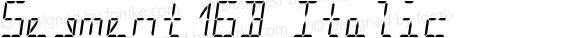 Segment16B Italic