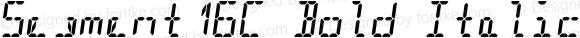 Segment16C Bold Italic