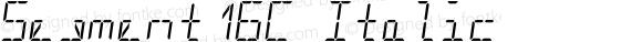 Segment16C Italic