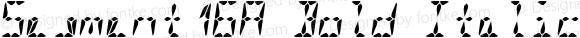 Segment16A Bold Italic