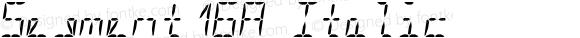 Segment16A Italic