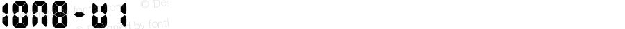 IONB-U1 ☞ Version 1.000;com.myfonts.easy.urtd.ion-b.u1.wfkit2.version.3uy4