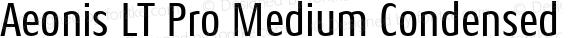 Aeonis LT Pro Medium Condensed