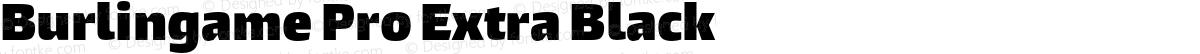 Burlingame Pro Extra Black