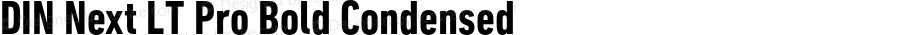 DINNextLTPro-BoldCondensed
