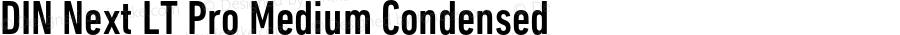 DINNextLTPro-MediumCond