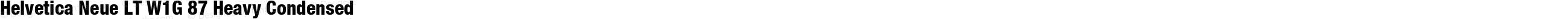 HelveticaNeueLT W1G 67 MdCn Bold