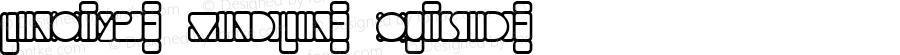 Linotype Mindline Outside Version 1.001