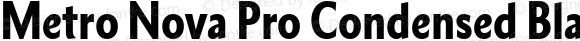 Metro Nova Pro Condensed Black