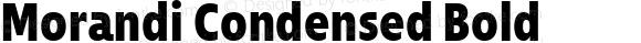 Morandi Condensed Bold