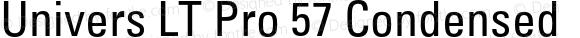 Univers LT Pro 57 Condensed