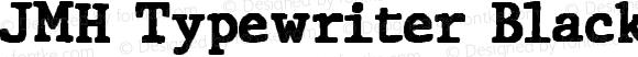JMH Typewriter Black