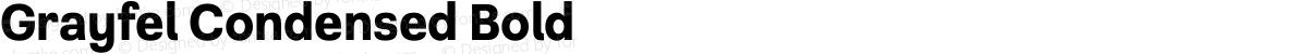 Grayfel Condensed Bold