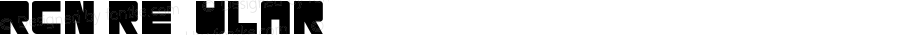 RCN Regular Version 1.00;September 11, 2018;FontCreator 11.5.0.2421 32-bit
