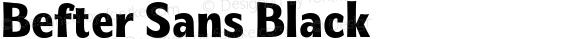 Befter Sans Black