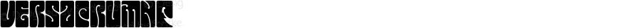 VersacrumNF ☞ Version 1.000;com.myfonts.easy.nicksfonts.versacrum-nf.normal.wfkit2.version.4mpv