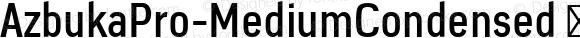 AzbukaPro-MediumCondensed
