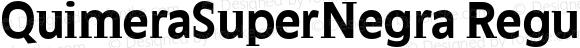 QuimeraSuperNegra