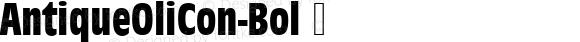AntiqueOliCon-Bol