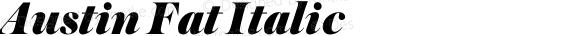 Austin Fat Italic