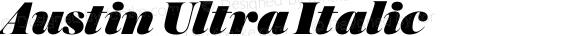 Austin Ultra Italic