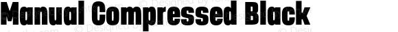Manual Compressed Black