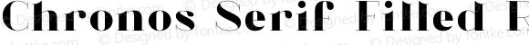 Chronos Serif Filled