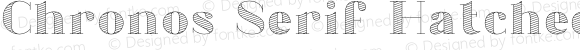 Chronos Serif Hatched