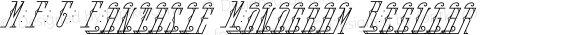 MFC Fantasie Monogram