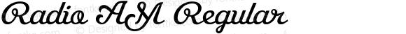 Radio AM Regular 001.000