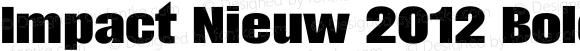 Impact Nieuw 2012 Bold