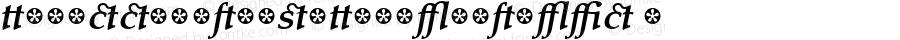 TaroccoExtrasOT-BoldItalic ☞ Version 2.100 2006;com.myfonts.easy.macrhino.tarocco.extras-ot-bold-italic.wfkit2.version.3ut3