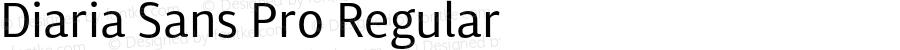 Diaria Sans Pro Regular Version 001.000;com.myfonts.easy.konstantynov.diaria-sans-pro.regular.wfkit2.version.4yaw