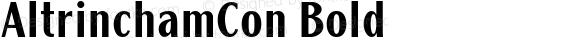 AltrinchamCon Bold Version 1.10