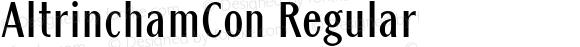 AltrinchamCon Regular Version 1.10