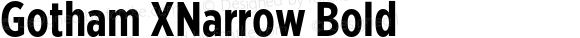 Gotham XNarrow Bold