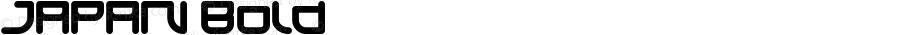 JAPAN Bold Version 1.00;October 7, 2018;FontCreator 11.5.0.2427 64-bit