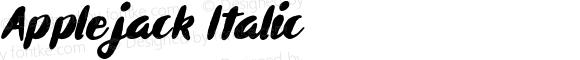 Applejack Italic