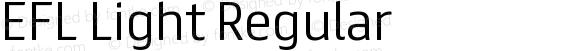 EFL Light Regular