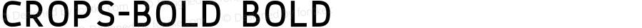 Crops-Bold Bold Version 01.00