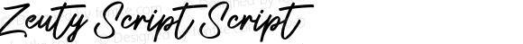 Zeuty Script Script
