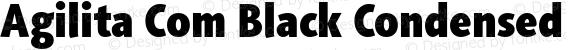 Agilita Com Black Condensed