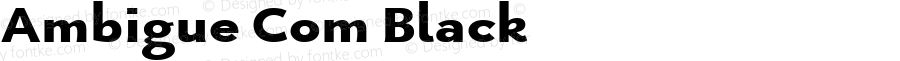 Ambigue Com Black Version 1.01