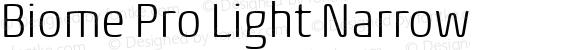 Biome Pro Light Narrow
